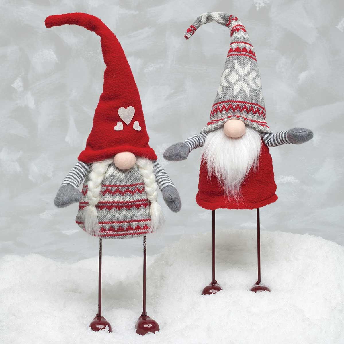 2 Piece Norse Gnome Couple Figurine Set [R6777X2] - $25.70 : Zia ...
